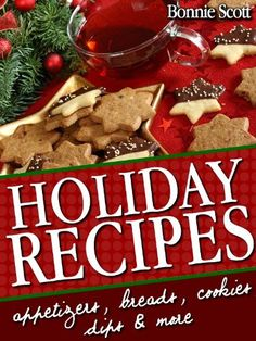 Free Kindle Books - Cooking, Food Wine - Holiday Recipes: 150 Easy Recipes and Gifts From Your Kitchen ~ by: Bonnie Scott Canning Apple Pie Filling, Homemade Apple Pie Filling, Easy Holiday Recipes, Easy Recipes, Christmas Recipes, Christmas Ideas, Holiday Foods, Christmas Goodies, Holiday Ideas