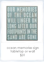 Seaside Inspired | beach signs and beach wall decor from seasideinspired.com