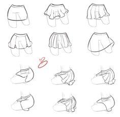 francis-bonerfoy:  artist-refs: How I do - Skirts by *rika-dono