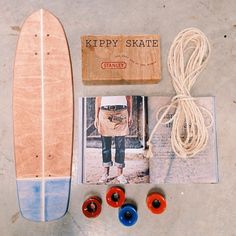 Vintage survival kit with cruiser #skateboard #deck #oldschool http://thedailyboard.tumblr.com/post/98458874619/survival-kit-with-skateboard-deck-by