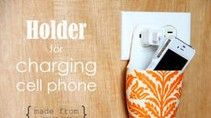 DIY Cell Phone Charging Holder