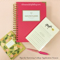 The Monogrammed Life: Tips for College Applications