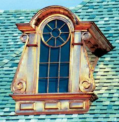 Beach Sheet Metal Company dormers are designed and fabricated to both enhance the architectural appeal of your project and to function as a source of attic ventilation or natural light by installing glass in place of louvers. #Dormers #BeachsheetMetal #UniqueDesign