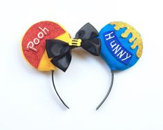 A personal favorite from my Etsy shop https://www.etsy.com/listing/262169767/winnie-the-pooh-inspired-ears-winnie-the