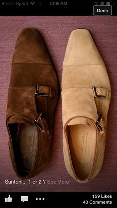 Double Monk Suede