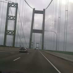 Narrows Bridge in Tacoma WA