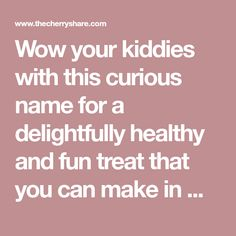 Wow your kiddies with this curious name for a delightfully healthy and fun treat that you can make in minutes Chef and author Cath 18259 - Healthy Food Network Strawberry Recipes, Fruit Recipes, Individual Appetizers, Healthy Food, Healthy Recipes, Food Network Recipes, Author, Names, Treats