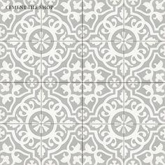 Cement Tile Shop - Encaustic Cement Tile Amalia Gris $15.69