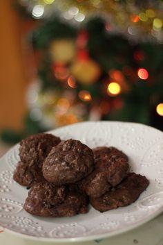 Biscotti al doppio cioccolato - Gluten free e lactose free -