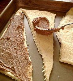Cinnamon Butter Crescents
