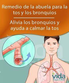 Remedio Tradicional De La Abuela Para El Asma La Bronquitis La Tos Y Las Enfermedades Pulmonares Remedios Para La Bronquitis Curar La Tos Remedios Para La Tos