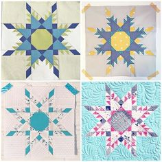 """Free quilt pattern! Make this classic quilt block with no Y-seams! Foundation paper piecing templates include sizes to make an 8"""", 12"""" and 16"""" block."""