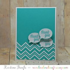 {a2z scrapbooking} Thank You!! Handmade Card with Hero Arts and