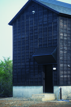 cottage in tsumari   awning ~ daigo ishii + future-scape...