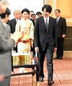 On 10th April, HIH Prince Fumihito and HIH Princess Kiko of Akishinonomiya attended the 23rd award ceremony of The Grand Prize for The Global Environment Award held in Tokyo.