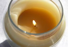 Paraffin candle wax can serve as a lubricant for a squeaky door hinge when you're in a pinch.