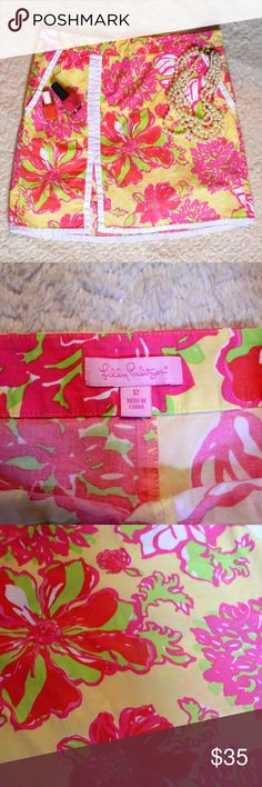 {SALE!!} Lilly Pulitzer Skort Size 12 Lilly Pulitzer Skort Lilly Pulitzer Skirts Mini