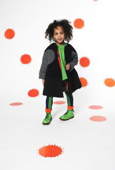 Kol Kid : Bodebo Duffi Coat   Effortlessly cool coat that's easy to wear too. It's oversized and colour-blocked to make a statement in a no fuss kind of way. Wish they made it in my size too!