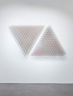 Alois Kronschlaeger: Polychromatic Structures - Exhibitions - Cristin Tierney Gallery