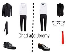 """Chad and Jeremy prom tuxes no theme"" by shadow-killer-101 on Polyvore featuring Marni, Andrew Fezza, Allen Edmonds, Ermenegildo Zegna, Dolce&Gabbana, Joseph, Tom Ford, Versace, men's fashion and menswear"