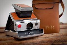 Vintage Polaroid SX-70 Film Land Camera and Leather Case Vintage Polaroid 9477e104967