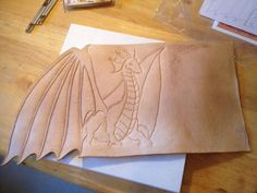 Leather journal cover by Brian Imlay