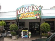 Iguanas - A Great Restaurant St. Simons Island, Georgia ....Fantastic bacon wrapped shrimp!