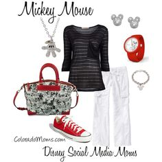 """MIckey Mouse"" by coloradomom on Polyvore"