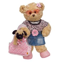 Shop, Explore and Play at Build-A-Bear® Teddy Bear Cartoon, Teddy Bears, Build A Bear Outfits, Teddy Bear Clothes, Best Pal, Lady And The Tramp, Bear Art, Pooh Bear, Doll Face
