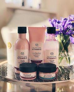 Vitamin E Aqua Boost Essence Lotion, The Body Shop, Body Shop At Home, Homemade Skin Care, Diy Skin Care, Body Shop Skincare, Body Shop Products, Beauty Products, Body Shop Vitamin E, Perfume