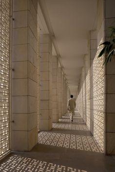 Screen pattern || Aman Resort, New Delhi, by Kerry Hill Architects