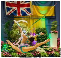 Kaho Minagawa, Japan, World Cup Corbeil-Essones 2014, #rhythmic_gymnastics, #rhythmicgymnastics