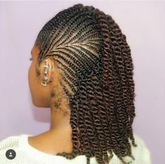 Hairstyles For Kids Black Flat Twist - Hairstyles Hair Twist Styles, Flat Twist Hairstyles, Natural Braided Hairstyles, Natural Hair Braids, African Braids Hairstyles, Braids For Black Hair, Braid Styles, Curly Hair Styles, Natural Hair Styles