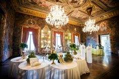 """Imagine the wedding"" was staged on 18 and 19 October at Villa Erba on Lake Como, the exclusive event architect of dreams Angelo Garini"