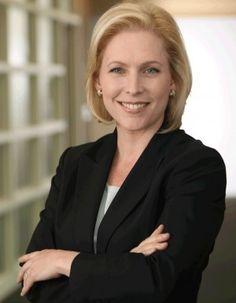 Senator Kirsten Gillibrand - potential first female president of the U.S.  I'll take it.
