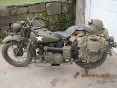 1938 Indian military motorcycle