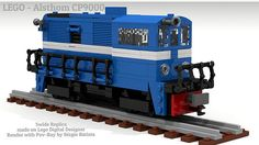 LEGO - Alsthom CP9000   5Wide Train Diesel Engine Portuguese…   Flickr