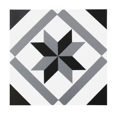 Tile stickers for floors and walls. With an hydraulic slab style. PVC print laminates. It adheres to smooth and flat surfaces. Very durable and waterproof. Easy clean with conventional cleaning products. It doesn't leave adhesive remnants by withdrawing. A fast and easy way to change your decoration.   The BLACK STAR floor tile sticker allows you to fill in color and vitality any stay of your home. Is the quickest and easiest way to completely change the walls or floors of your home…