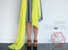 neon yellow - scarfshop