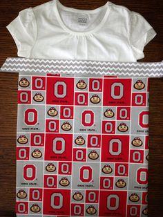 Ohio State Dress on Etsy, $35.00