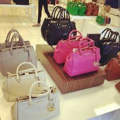 I will always heart MK ( they look beautiful) but the hand bags do not hold up for the price.
