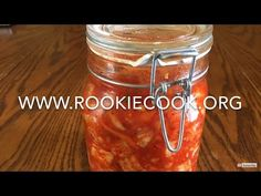 Radish Kimchi - Rookie Cook Party Recipes, Spicy Recipes, Easy Healthy Recipes, Asian Recipes, Holiday Recipes, Yummy Recipes, Yummy Food, How To Eat Paleo, Food To Make