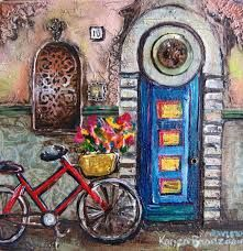 Artist Karien Boonzaaier Cool Diy Projects, Craft Projects, South African Artists, Various Artists, Crafty, Cool Stuff, Painting, Gates, Doors