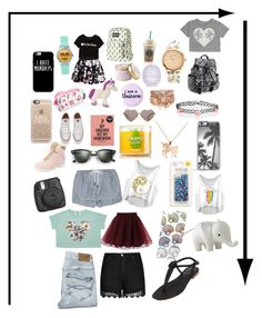 """""""Random Cute Stuff"""" by hazelg14 ❤ liked on Polyvore featuring beauté, Forever 21, JanSport, River Island, Wildfox, Converse, Lily-Flame, Accessorize, Casetify et Louche"""