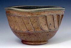 My favorite: salt glazed pottery
