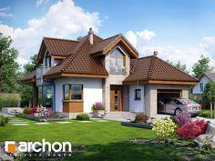 projekt Dom w rukoli (N) widok 1