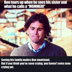 Bachelor Ben. He is a class act, you guys.