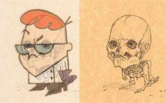 """Te presentamos las """"radiografías"""" de tus personajes favoritos de las caricaturas   SDP Noticias"""