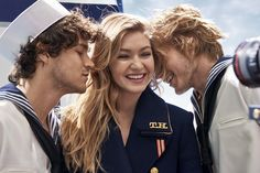 Welcome to the new nautical: the TOMMYXGIGI collection is a playful update of seafaring classics. Here's how to wear the trend this fall. --with Gigi Hadid --