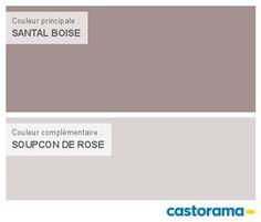Castorama Nuancier Peinture - Mon harmonie Peinture  SANTAL BOISE mat de DULUX VALENTINE Le mat